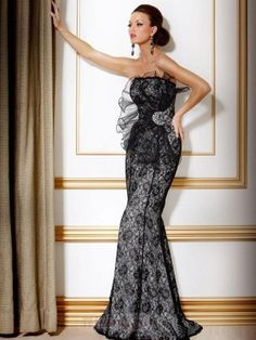 Sexy Sleeveless Lace Floor-Length Mother of the Bride Dresses Evening Gowns 26fe81251b0c