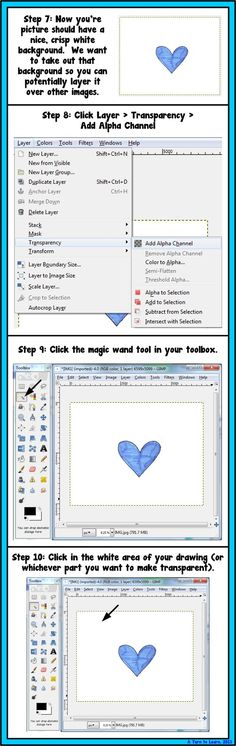 A Turn to Learn: How to Make Clipart From Your Own Drawings!