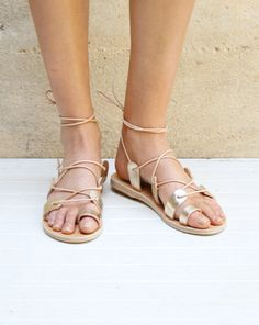 alcyone sandal : ancient greek sandals