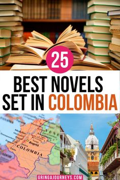 This list covers the 25 best novels set in Colombia, including The Sound of Things Falling by Juan Gabriel Vásquez, One River: Explorations and Discoveries in the Amazon Rain Forest by Wade Davis, One Hundred Years of Solitude by Gabriel García Márquez, and more! | books that take place in Colombia | non fiction books about Colombia |famous colombian literature | books about Colombia | best books on colombia Visit Colombia, Colombia Travel, Travel Movies, Travel Books, Backpacking South America, South America Travel, Literature Books, Fiction Books, International Travel Tips