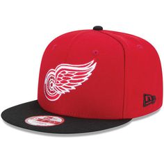 c3393cf497c Detroit Red Wings New Era NHL Bind Back 9FIFTY Adjustable Hat - Red