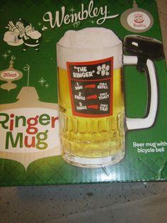 Wembly The Ringer Beer Mug 20 OZ