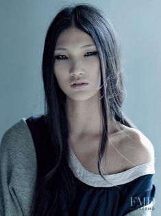 Photo of Chinese fashion model Emma Xie. Pretty People, Beautiful People, Beautiful Women, Female Character Inspiration, Interesting Faces, Woman Face, Pretty Face, Asian Woman, Asian Beauty