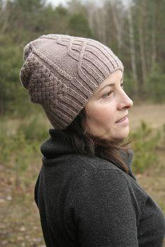Maude Hat by Beata Kaptur ¬ malabrigo Arroyo Sand Bank