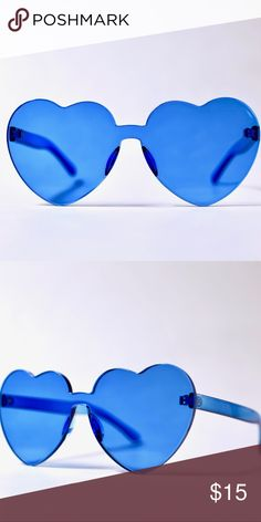 64c89cd1c9d Shop Women s Blue size OS Sunglasses at a discounted price at Poshmark.  Description  Trendy sunglasses in blue.