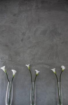 Cemcrete's SatinCrete cement wall application by CEMTECH
