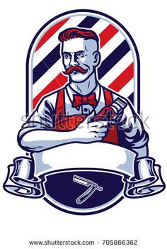 barber man holding clipper