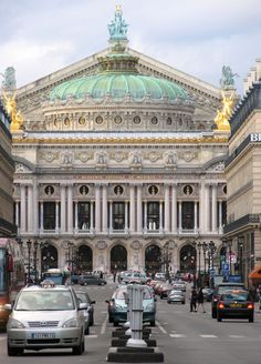 Palais Garnier Opera House Paris, France.
