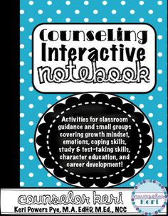 Elementary School Counseling Interactive Notebook Bundle