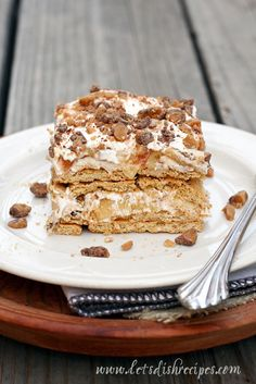 No-Bake Apple Pie Icebox Cake on MyRecipeMagic.com