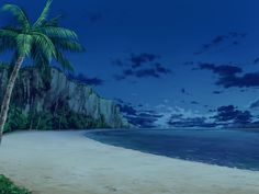 background, freebies for drawing, sea / フリー素材 背景 南の海 - pixiv Scenery Background, Background Drawing, Beach Background, Background Pictures, Anime Backgrounds Wallpapers, Anime Scenery Wallpaper, Episode Interactive Backgrounds, Episode Backgrounds, Casa Anime