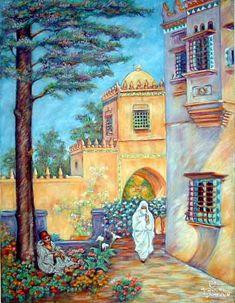 Maison-d'Alger-Pastel-65x50