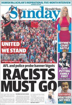 #20160403 #AUSTRALIA #AustraliaTodayNEWSpapers20160403 Sunday APR 03 2016 http://en.kiosko.net/au/2016-04-03/ + #HeraldSunSundayMELBOUNE20160403 #MELBOURNE http://en.kiosko.net/au/2016-04-03/np/herald_sun.html