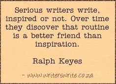 The Writer's Handbook • Posts Tagged 'Writer's Quotes'