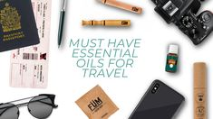 Top 3 essential oils to make your travel experience better.