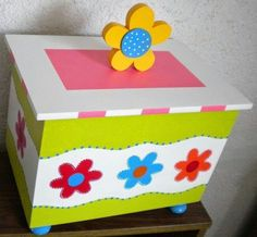 Cajas de madera decoradas manualidades pinterest - Decorar cajas de madera manualidades ...