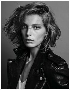 Daria Werbowy: Love her hair.