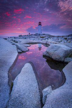 Peggy's Cove, Nova Scotia, Canada by Mathieu Dupuis www.mathieudupuis.com