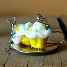 Hey, I found this really awesome Etsy listing at https://www.etsy.com/listing/161828259/miniature-cupcake-earrings-sweet-and