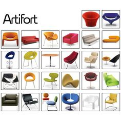 Artifort. love. every. single. one.