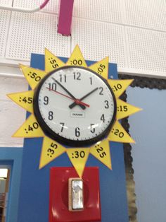 Sun Clock -Great for 1st Grade Classrooms!!