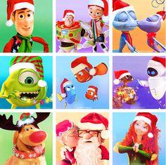 Noël - Pixar - Disney
