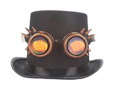 c8aaad6f2343 Pumpkin Face Steampunk Glasses Cosplay Goggles Costume Props For Halloween  Ghost --    AMAZON BEST BUY     Steampunk