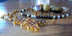 Rustic Tiger's Eye Jewelry Kit