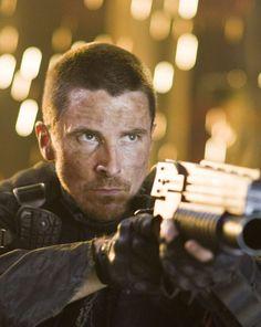 "Christian Bale en ""Terminator Salvation"", 2009"