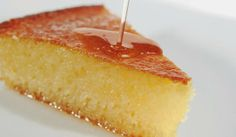 How to Bake a Cake with Only 5 Ingredients--The Basic Cake Recipe Greek Sweets, Greek Desserts, Greek Recipes, Greek Cake, Eat Greek, Sweets Recipes, Cake Recipes, Cooking Recipes, Greek Pastries
