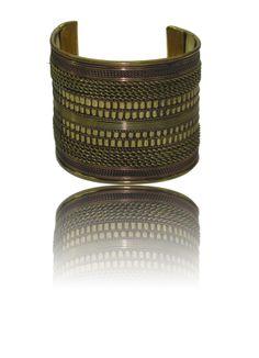Antique Style-Brass Cuff