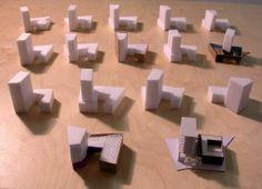 Leventis Gallery massing models