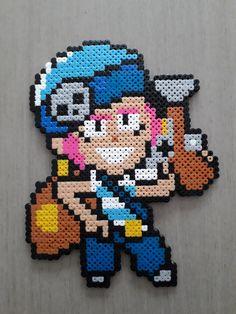 Bead Art, Perler Beads, Crow, Pixel Art, Kawaii, Stars, Naruto, Anime, Diy
