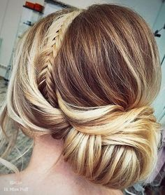 Long Wedding Hairstyles from Elstile