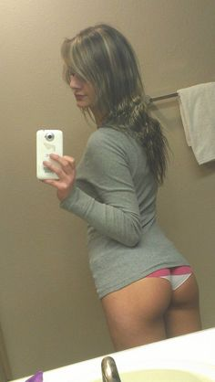 young girl with a nice ass buttocks