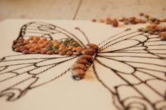 How to make a bean mosaic
