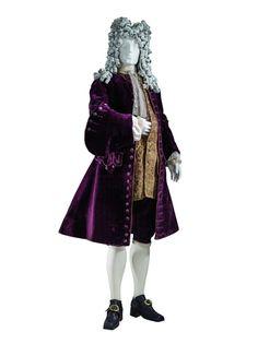 Coat, 1720′s-30′s and waistcoat ca. 1730  From LACMA