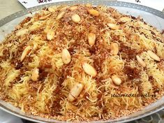 After the detailed stages of cooking steamed vermicelli,The Sesame Of Flavors offers you today the recipe for Seffa Medfouna with c. Sauce For Chicken, Cheat Meal, Arabic Food, Yum Yum Chicken, Special Recipes, Healthy Dinner Recipes, Macaroni And Cheese, Food And Drink, Favorite Recipes