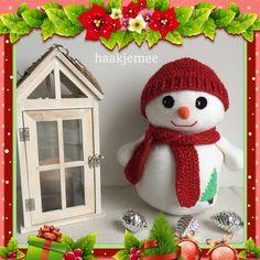Haakpatroon sneeuwpop - Haakjemee