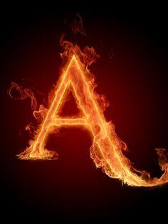 Monograma em chamas