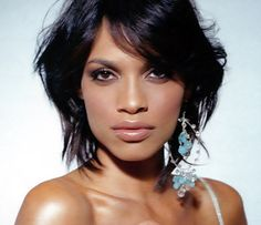 rosario dawson. I honestly think she is the most beautiful woman ever. If I could look like anyone else....
