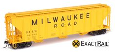Additional Information Scale: HO Scale Product Line: Platinum Series Product Type: PS-2CD 4427 Covered Hopper RailRoad: MILW Coupler Type: Kadee #58 Truck Type: ExactRail ASF 100 Ton Ride Control Truc