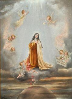 Images pieuses( Sainte Thérése de l'Enfant Jésus)