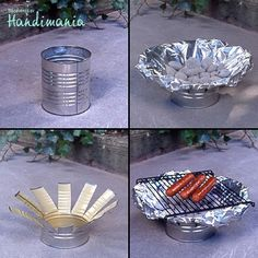 Tin Can Grill, what a genius idea!