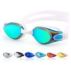 الملونة نظارات السباحة الكبار الرجال النساء نظارات السباحة الساحة المهنية ومكافحة الضباب نظارات السباحة نظارات المياه natacion
