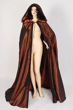 Medieval Renaissance Cape Cloak Handmade Taffeta von YourDressmaker