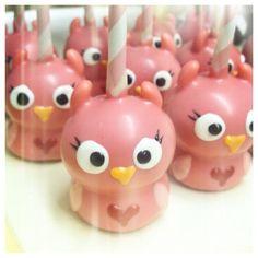 ❥ Owl cake pops