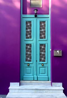 A fantastic project by two film makers – photographers: Alexander Jaschik, Iordanis Orfanidis. I m always finding myself impressed by doors. Different colours, shapes, designs, and materials. Photography Articles, Textures Patterns, Athens, Tall Cabinet Storage, Colours, Outdoor Decor, Projects, Marker, Photographers