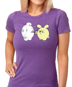 Poke Poke Women's T-shirt by Fat Rabbit Farm