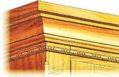 Carving Decorative Molding - Furniture Molding Construction Techniques   WoodArchivist.com